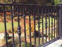 Decorative Iron Railing